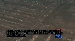 Tornado a Oklahoma venti a 300kmh immagini