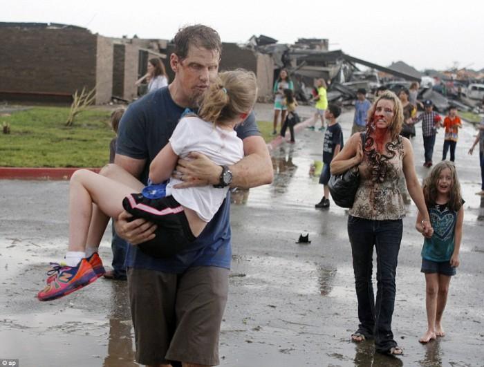 Tornado  Oklahoma moore immagini